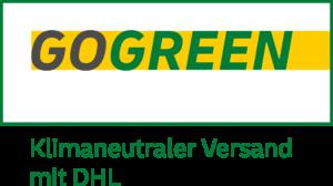 DHL GoGreen Logo mehrfarbig